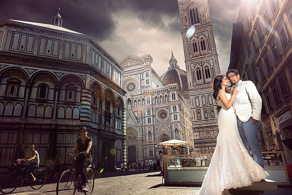 destination wedding photography in florence