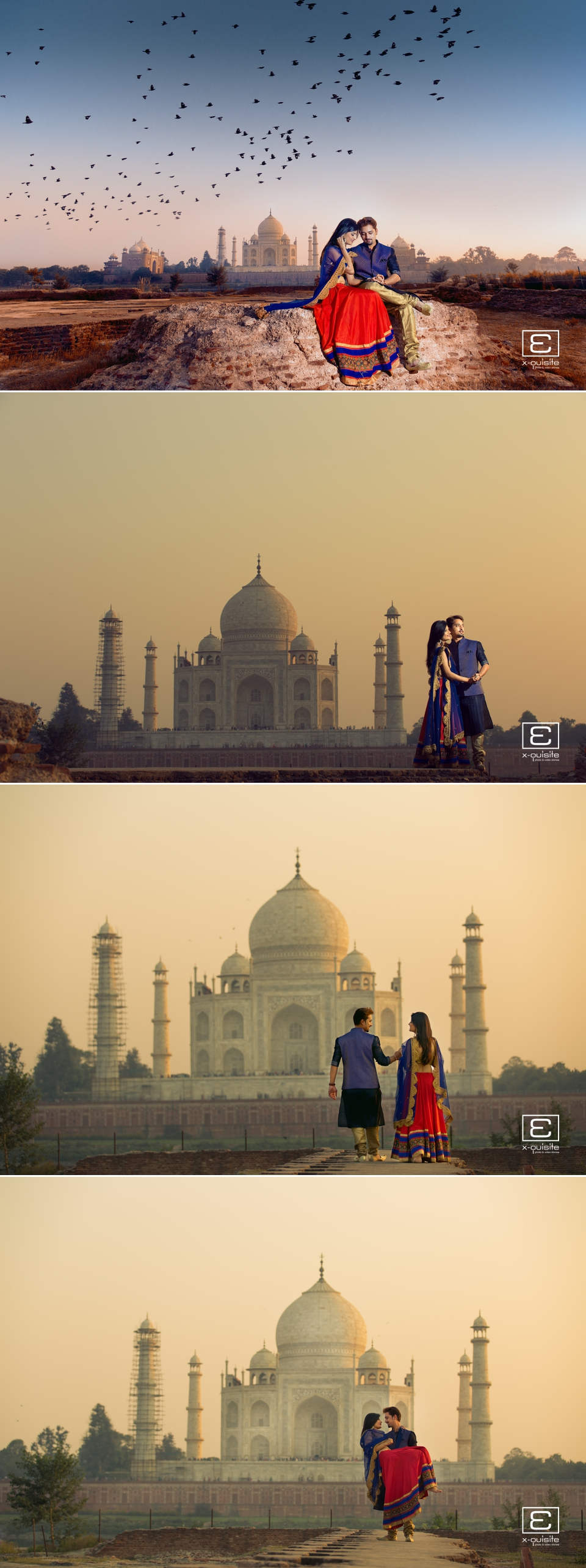 Taj Mahal Pre Wedding Shoot_01