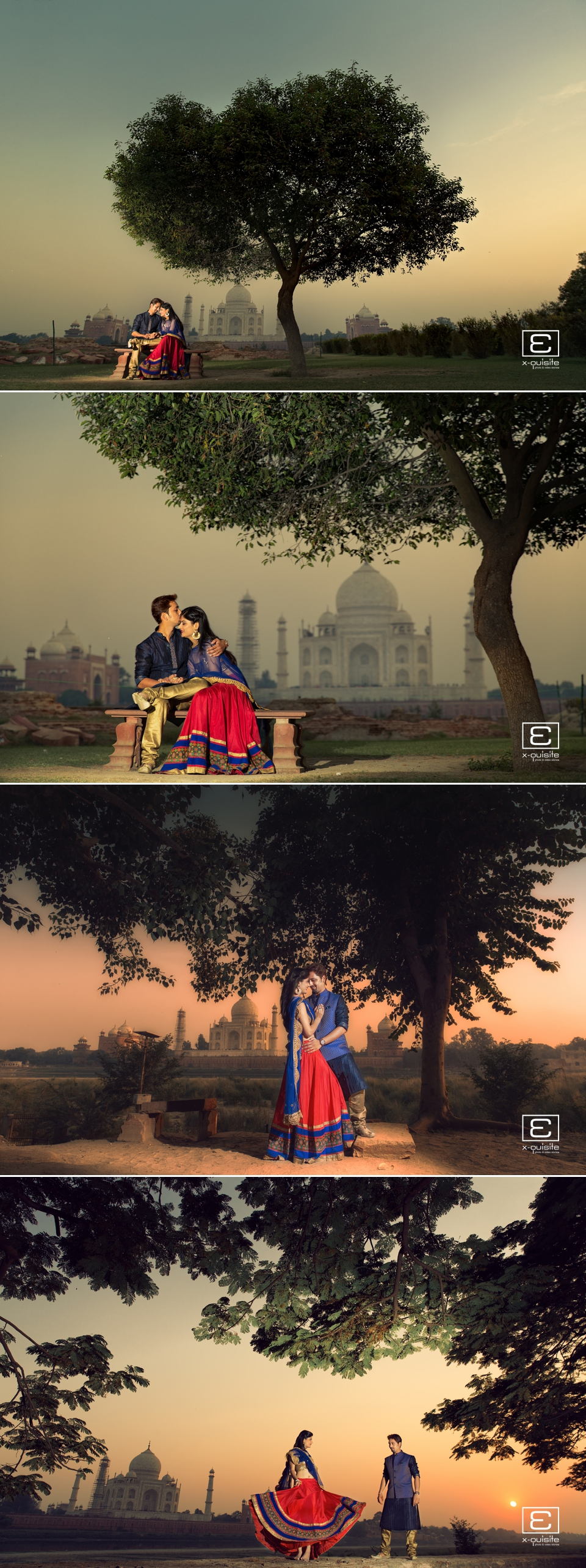 Taj Mahal Pre Wedding Shoot_02