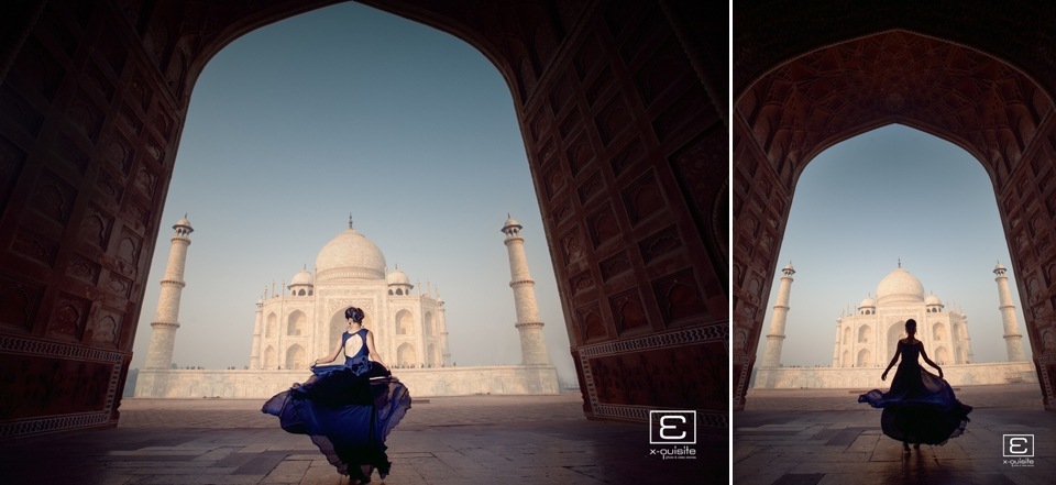Taj Mahal Pre Wedding Shoot_07