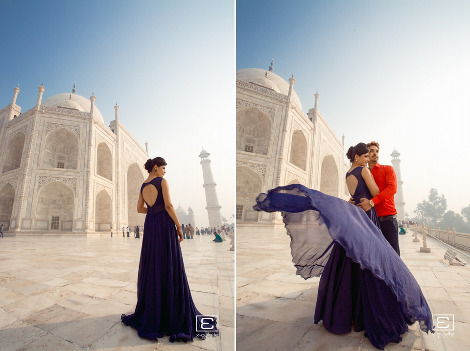 Taj Mahal Pre Wedding Shoot_09