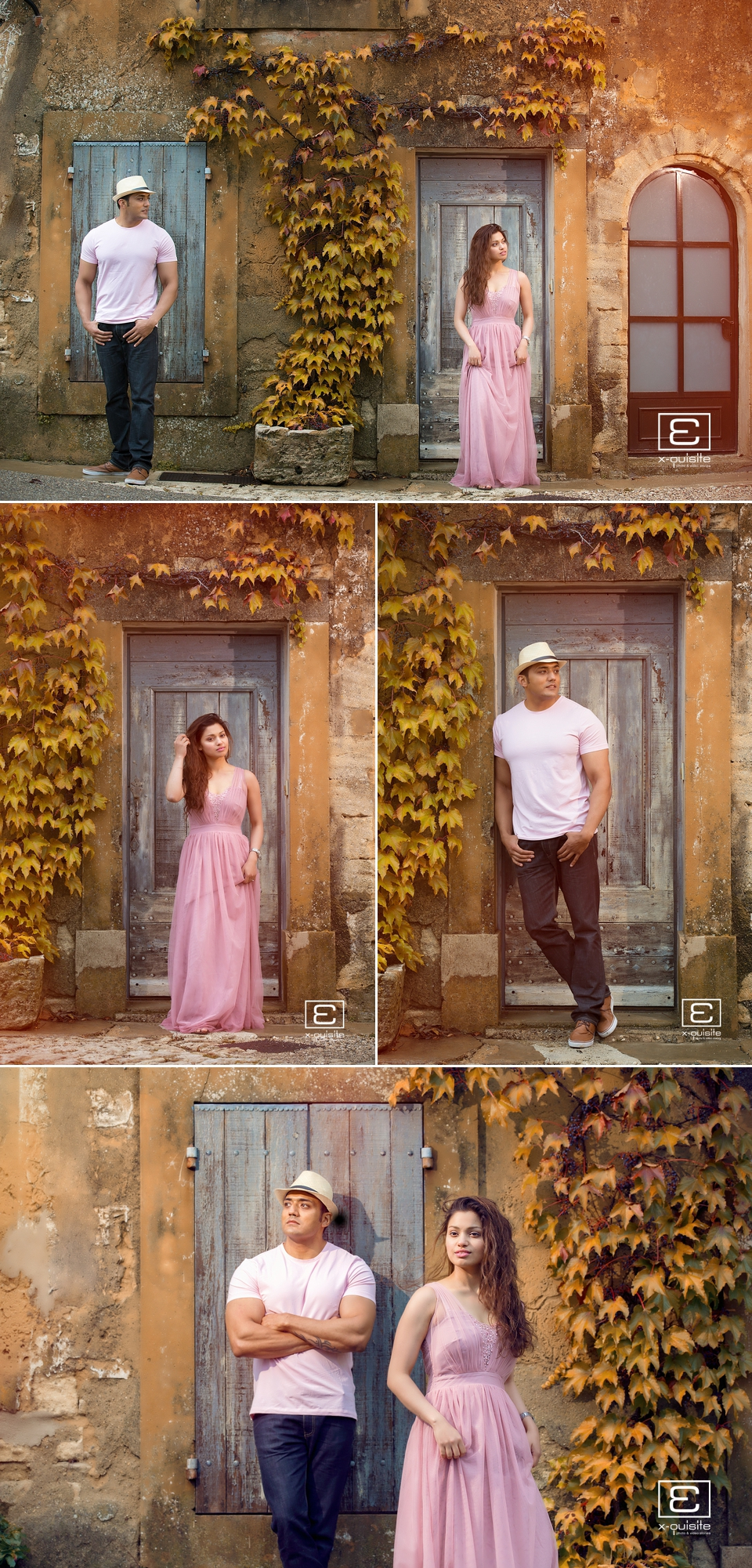 Sarah & Kash South of France Pre Wedding Destination Shoot