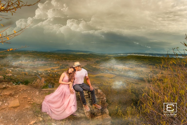 Sarah & Kash South of France Pre Wedding Destination Shoot and Save The Date Video